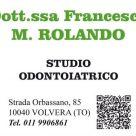DOTT.SSA FRANCESCA M. ROLANDO