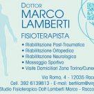 DOTTOR MARCO LAMBERTI FISIOTERAPISTA