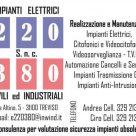 IMPIANTI ELETTRICI 220 380 CIVILI ED INDUSTRIALI