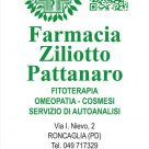 FARMACIA ZILIOTTO PATTANARO