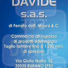 FERRATO DAVIDE SAS