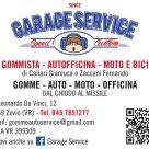 GARAGE SERVICE