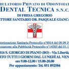 Ambulatorio privato di odontoiatria Dental Tecnica snc di Fresa Gregorio