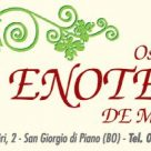 Enoteca De Marchi