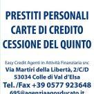 AGOS DUCATO Easy Credit Agenti in Attività Finanziaria snc