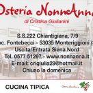 OSTERIA NONNANNA