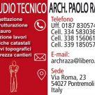 STUDIO TECNICO ARCH. PAOLO RAZA