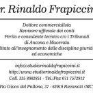DR RINALDO FRAPICCINI