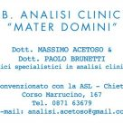 "LAB. ANALISI CLINICHE ""MATER DOMINI"""