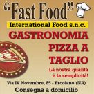 FAST FOOD INTERNATIONAL FOOD