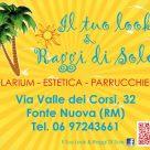 IL TUO LOOK & RAGGI DI SOLE