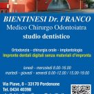DR. FRANCO BIENTINESI