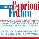 DITTA CAPRIONI FRANCO