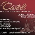 I CASTELLI