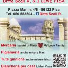 DITTA SCALI R. & I LOVE PISA