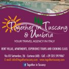 TOGETHER IN TUSCANY & UMBRIA