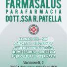 FARMASALUS PARAFARMACIA DOTT.SSA R. PATELLA