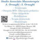 STUDIO ASSOCIATO MASSOTERAPIA A. ORNAGHI - S. ORNAGHI