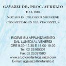 GAVAZZI DR. PROC. AURELIO