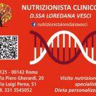 NUTRIZIONISTA CLINICO LOREDANA VESCI