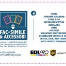 FAC-SIMILE & ACCESSORI