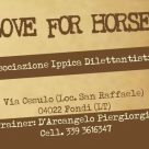 A.S.D. LOVE FOR HORSES