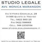 STUDIO LEGALE AVV. MONICA MARANGON