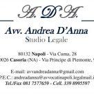AVVOCATO ANDREA D'ANNA