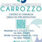 STUDIO MEDICO DENTISTICO CARROZZO