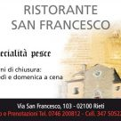 RISTORANTE SAN FRANCESCO