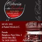 OSTERIA LA CUBA MI.VA. SAS di Pauletti Michele & C.