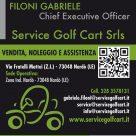 SERVICE GOLF CART