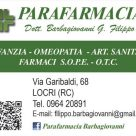 PARAFARMACIA DOTT. BARBAGIOVANNI G. FILIPPO