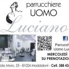 PARRUCHIERE UOMO LUCIANO