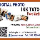 DIGITAL FOTO - INK TATOO FIORE MARTINO