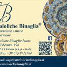 MAIOLICHE BINAGLIA