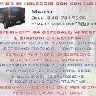 SERVIZIO DI NOLEGGIO CON CONDUCENTE