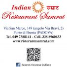 INDIAN RESTAURANT SAMRAT
