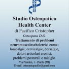 STUDIO OSTEOPATICO HEALTH CENTER