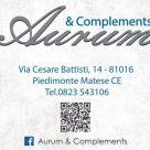 ARGENTI AURUM & COMPLEMENTS