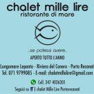 CHALET MILLE LIRE
