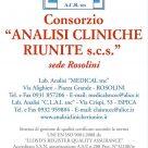 CONSORZIO ANALISI CLINICHE RIUNITE