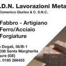 G.D.N. LAVORAZIONI METALLI