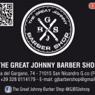 THE GREAT JOHNNY BARBER SHOP