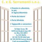 C. E G. SERRAMENTI