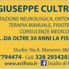 Dott. GIUSEPPE CULTRERA FISIOTERAPISTA