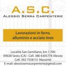 A.S.C. ALESSIO SERRA CARPENTERIE