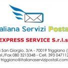 ITALIANA SERVIZI POSTALI