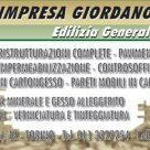 IMPRESA GIORDANO - EDILIZIA GENERALE