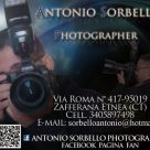 ANTONIO SORBELLO PHOTOGRAPHER